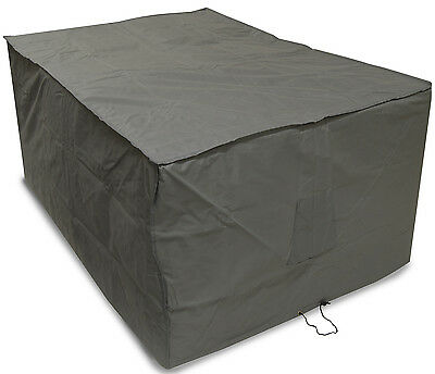 Oxbridge Grey Large Table Waterproof Outdoor Garden Furniture Cover