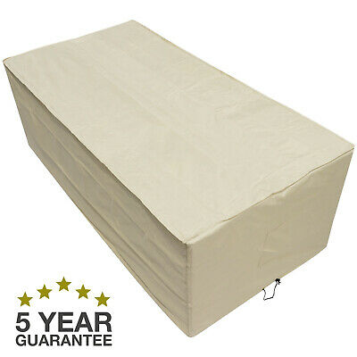 Oxbridge Sand Large Table Waterproof Outdoor Garden Furniture Cover