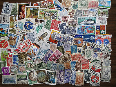 100 different EUROPE  STAMPS (Czech, Hungary, Italy, Netherlands, Poland,)