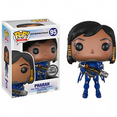 Funko Pop 95 Pharah Overwatch Blizzard Exclusive