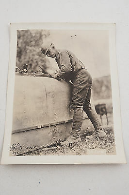 18358 Sergt Mike McCue US Army Signal Corps Official Photograph WWI 1918 (G4R)