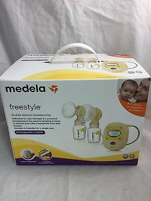 Medela Freestyle Double Electric Breastpump, Rechargeable (67065) *NEW*