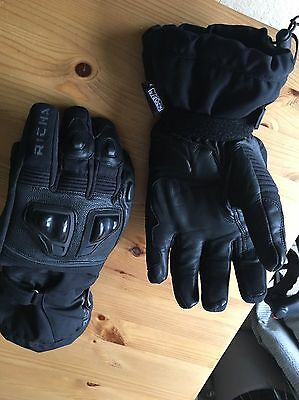 Richa Waterproof Motorcycle Gloves Leather And Textile