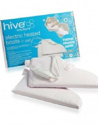 HIVE Professional HEATED Booties BOOTS Paraffin Wax Waxing Treatments HBQ3032