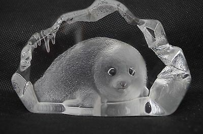 Mats Jonasson Seal Paperweight