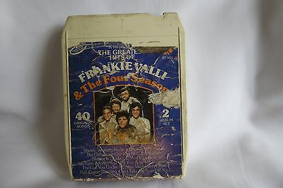 8 Track Tape;  The Great Hits Of Frankie Valli & The 4 Seasons