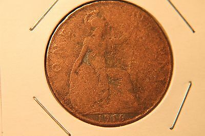 1916 Great Britain Large Penny