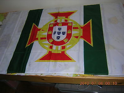Pre-1999 Portuguese Macau Colonial Governor standard Ensign Flag 3ftX5ft Macao