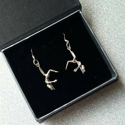 925 silver pole dancer stripper earrings Christmas gift x shorts shoes boots