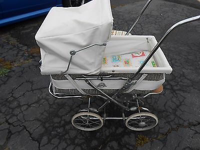 Collier 3 In 1 Vintage Baby Carriage / Buggy / Stroller And / Carrying Bassinet
