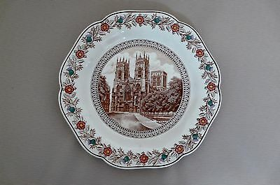 "Original Lner Cathedral Plate C1930S By Wedgewood      ""york"""