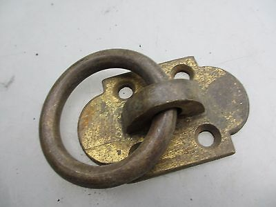 Vintage Brass Loop Handle Pull Jetty Tie Architectural Antique Stable Boat Old