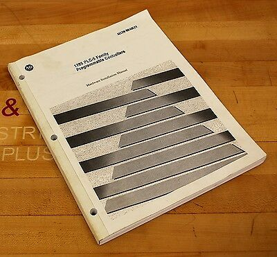 Allen Bradley 955118-03 PLC-5 Family Programmable Controllers Manual - USED