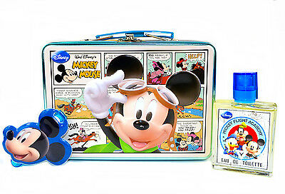 Disney Mickey Mouse Metall Box, Kofferanhänger, Parfüm EDT 50ml