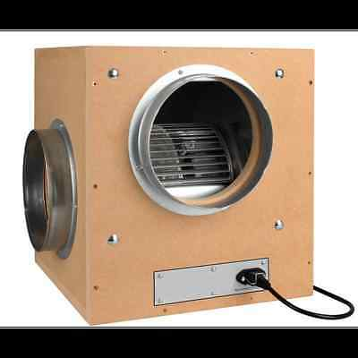 "Silent Acoustic Mdf Box Fan 6"" 700 Grow Tent Ventilation Torin Hydroponics"