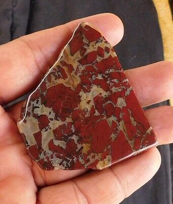 155.6 Cts Nicely A++ 100% Natural Blood Stone Cab Slab Gemstone 35X52X5 Mm