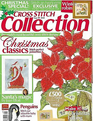 CROSS STITCH COLLECTION ISSUE 177 christmas classics