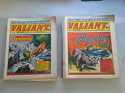 Valiant Comics 24 Issues From 1975 From 5/7-27/12 Missing 19/7 & 14/11