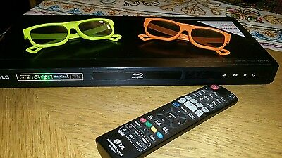 LG BD660 Full HD 3D Blu-Ray Player With Remote Control