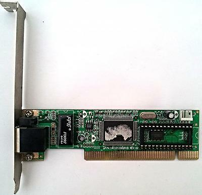 Belkin 10/100 141121100201B PCI Ethernet Adapter Card GREAT CONDITION