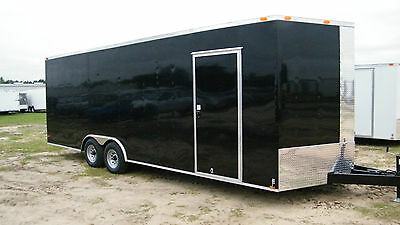 8.5x20 Enclosed Trailer Cargo Car Hauler 8 V-Nose 18 Motorcycle 22 BOX 2017 CALL