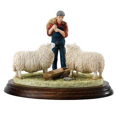 Border Fine Arts James Herriot Double Rations Sheep Figurine New Boxed A26104