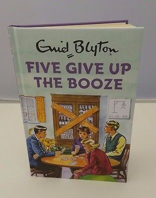 Five give up the booze Enid Blyton books for Grown ups Retro Adults Fun gift New