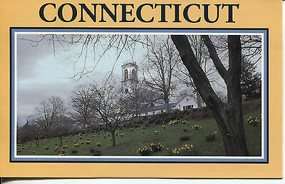 Post Card Of Essex Connecticut, Church Hill In The Spring