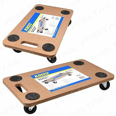 150kg Max Heavy Duty +4 WHEEL FURNITURE MOVER+ Trolley Dolly Platform Flat Bed