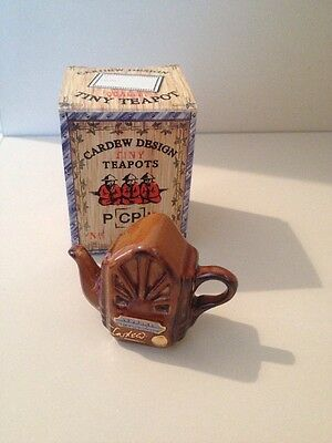 Collectable, Miniture teapot Cardew radio, New Boxed