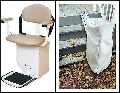 Harmar SL350OD Outdoor Stairlift Stair Lift Chair Lift  sc 1 st  PicClick & HARMAR SL350OD OUTDOOR Stairlift Stair Lift Chair Lift - $3195.00 ...