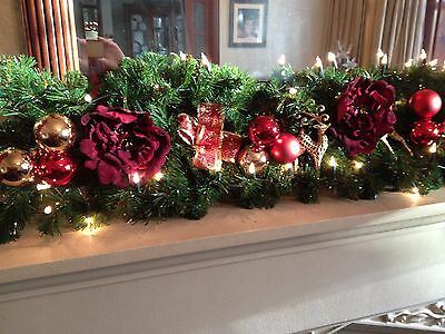 Garland with lights