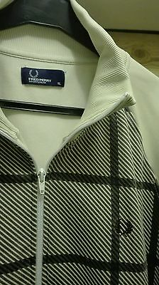 Fred Perry tracksuit top jacket xl