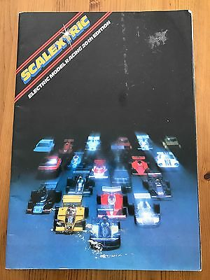 Scalextric Catalogue Late 70's