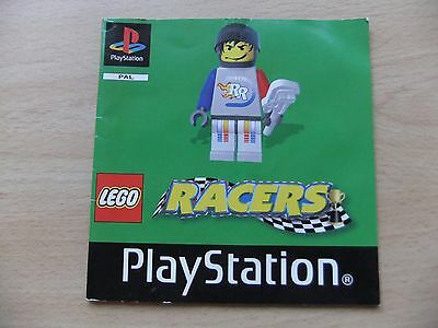 Playstation - Racers - Instruction Manual Only
