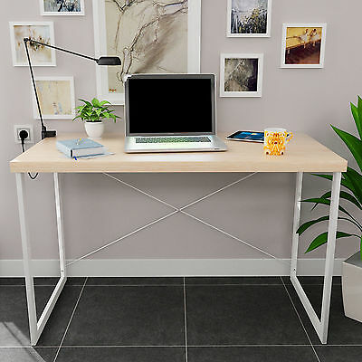 Computer Desk Home Office Writing PC Workstation Study Desktop Furniture Table