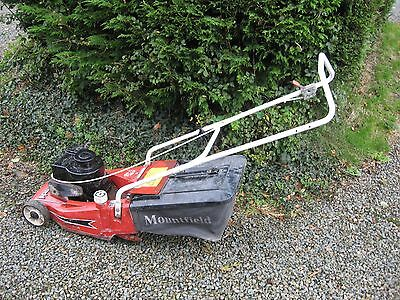 Mountfield Petrol Lawnmower 16 inch cut and Briggs and Stratton engine