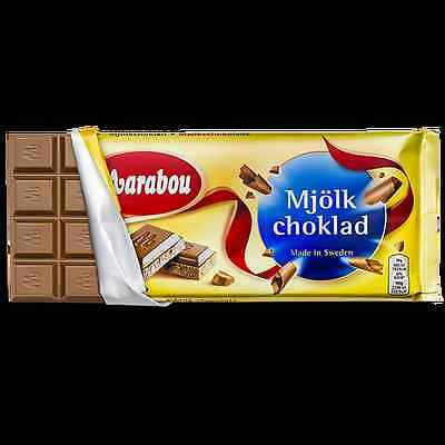 Marabou chocolate Sweden. Mix bars for lower shipping! Best price! Milk, Dark,..