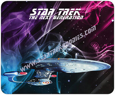MINT MOUSEPAD Star Trek: The Next Generation  - U.S.S. ENTERPRISE NCC-1701-D!