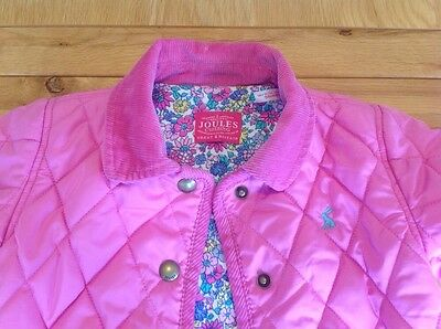 Baby Girls Toddler Joules Baby Mabel Padded Quilted Pink First Jacket Coat 3-6m