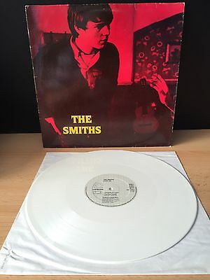 """THE SMITHS -Stop Me If You think../Girlfriend In..- Rare Geman White Vinyl 12"""""""