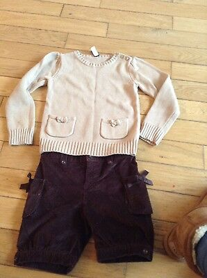 girls gap outfit set age 4-5