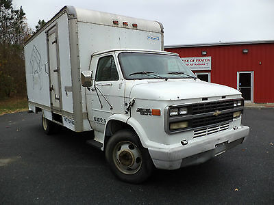 1996 Chevrolet 30 HD 16' Long Box Heavy Duty 7.4L Runs Well Low Miles NO RESERVE