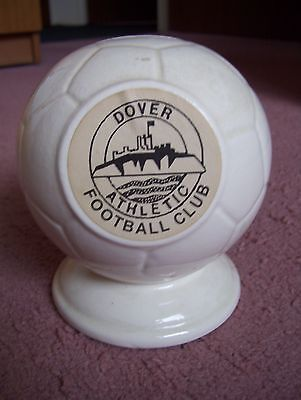 Vintage Dover Athletic Football Club Ceramic Moneybox.(Excellent Condition.