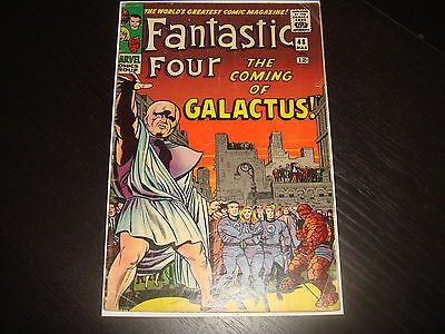 FANTASTIC FOUR #48 1st Silver Surfer & Galactus Silver Age Marvel Comics 1966 VG