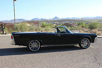 1964 Lincoln Continental 4 door Convertible 1964 Lincoln Continental 4 door Convertible RARE Triple Black FACTORY AIR