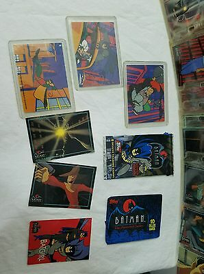 Batman Animated Series 1 & 2 1993 Topps Trading Cards