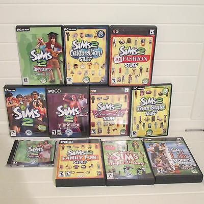 The sims 2 on PC bundle