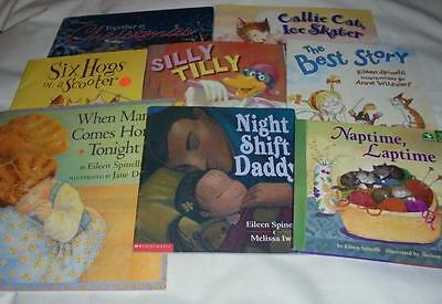 HUGE set of 8 Eileen Spinelli picture books