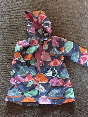 Girls Next Raincoat Age 5-6